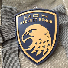 Eagle Medal of Honor WARFIGHTER MOH Project Honor 3D PVC MORALE Patch