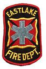 "EASTLAKE OHIO FIRE DEPT VINTAGE PATCH 3"" x 5"""