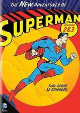 The New Adventures of Superman: Seasons 2 & 3 (DVD, 2014, 2-Disc Set) NEW