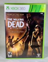 Walking Dead Game of the Year (Microsoft Xbox 360) CIB Complete Telltale Games