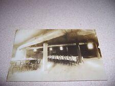 1913 NEW METHODIST CHURCH BASEMENT ELKVILLE ILLINOIS IL. RPPC POSTCARD