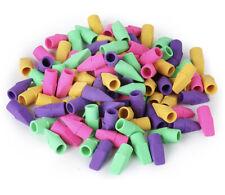 Mr. Pen Pencil Top Erasers, Cap 120 Pack 120 pack, Multicolored