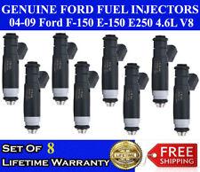 Set Of 8 OEM Siemens Fuel Injectors For 04-08 Ford F-150  4.6L V8 #4L3E-B4C