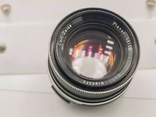 Rollei Carl Zeiss Planar 50mm F1.8 QBM Mount SLR Camera Prime Lens - Germany