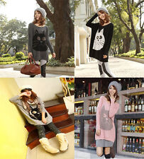 Unbranded Women's Cotton Blend Hip Length Jumpers & Cardigans