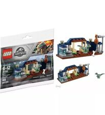 Lego JURASSIC WORLD #30282 Baby Velociraptor Playpen Building Toy Set NEW