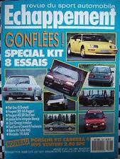 revue ECHAPPEMENT 1989 PORSCHE 911 CARRERA 4 / MVS VENTURI 2.8 SPC / 205 RUGGERI