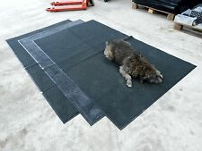 Dirt Trapper floor Mats 8'x5' for Dogs, Workshop, Stable, Garden Bike & vintage