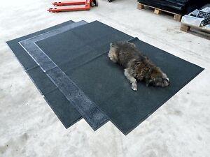 Dirt Trapper floor Mats 8'x5' for Dogs, Workshop, Stable, Garden Bike & vintage