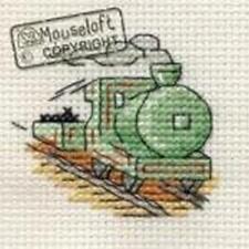 Mouseloft Mini Cross Stitch Kit - Steam Train, Stitchlets Collection