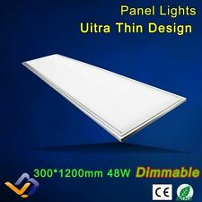 SPOT LED PANEL 48W 1m20 x 30cm - ULTRA BLANC - 4600 LUMENS + TRANSFORMATEUR