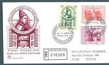 VATICANO - 1975 - 5° centenario della Biblioteca Apostolica Vaticana