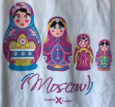 MOSCOW CELEBRITY CRUISES-DESTINATIONS-GRAPHIC T-SHIRT-XL