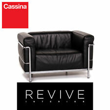 Cassina Le Corbusier LC 3 Leather Armchair Black #14713