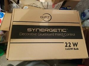 Synergetic AURA Restaurant Style Stainless Discrete Round Fly Light Trap NIB