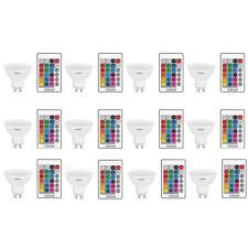 OSRAM LED base RGBW Remote par16 gu10 120 ° 4,5w = 25w 250lm dim via remote 12er