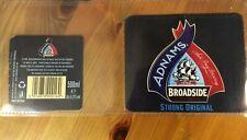 Adnams Broadside Strong Original beer bottle labels