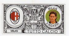 figurina - TUTTO CALCIO EURO MONETE  - MILAN F. INZAGHI