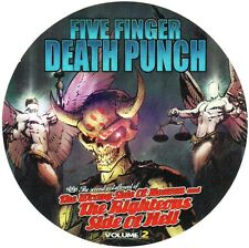 FIVE FINGER DEATH PUNCH The Wrong Side Of Heaven Vol 2 Ltd Ed Stickers Lot FFDP