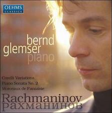 RACHMANINOF: CORELLI VARIATIONS; PIANO SONATA NO. 2; MORCEAUX DE FANTAISIE NEW C
