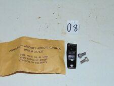 Nos OMC Johnson Evinrude Remote Control Adaptor Kit 0377637, 377637