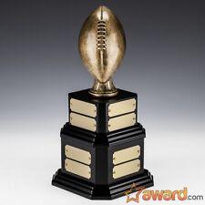 """Fantasy Football Trophy Perpetual - 16 Years -Vintage -11.75""""- Free Engraving!"""