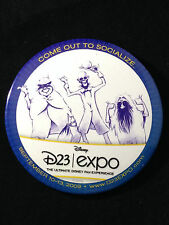 Disney D23 Expo - Hitchhiking Ghosts Come Out To Socialize Button Pin