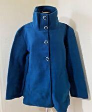 #200 BNWT Verde Azulado Damart Anne Duffle Coat Polar De lancay