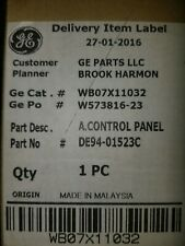 WB07x11032 GE Control Panel Microwave SS/Black New
