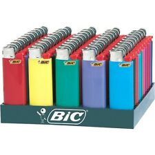 Bic Mini Lighters Counter Display of 50