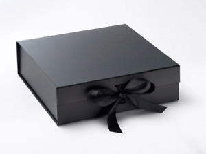 Gift Box, Magnetic Boxes, Gift Box With Ribbon, Square Box, Large Gift Box