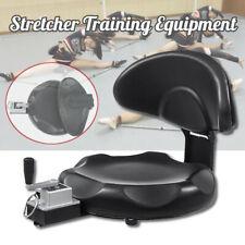 Black Leg Stretcher Stretching Machine Martial Arts Yoga Training Equipment