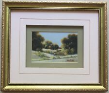 "Michael Taylor(1950~)~Australia Artist~original painting~""The Hikers""~"