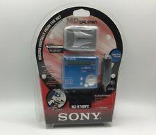Sony Mzr70 Portable Md Minidisc Recorder/Player - Blue (Mz-R70Dpc/5)