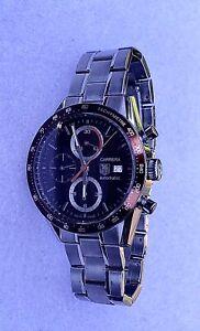 Tag Heuer Carrera Chronograph CV2013 Calibre 16 Automatic Men's Watch Brown Dial
