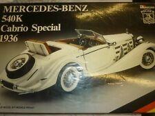 POCHER  Metal & plastic kit of a 1936 Mercedes benz 540K Cabriolet