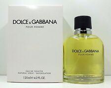 DOLCE AND GABBANA POUR HOMME EAU DE TOILETTE SPRAY 125 ML/4.2 FL.OZ. (T)