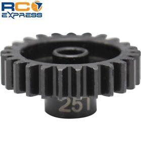 Hot Racing 25t Steel Mod 1 Pinion Gear 5mm NSG25M1