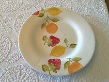 Loucarte Portuguese Pottery Round Fruit Platter