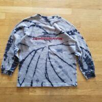 Men's TIE DYE Maui and Sons Long thermal Sleeve Shirt Size MEDIUM vintage vtg M