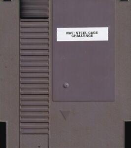 WWF WRESTLEMANIA: STEEL CAGE CHALLENGE (1992) nes no label us NTSC USA IMPORT