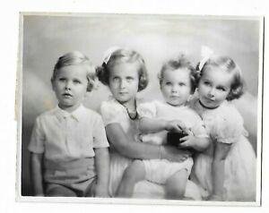 6 x 9 original Marcus Adams Photo Children of Mr. & Mrs. Cosmo Russell