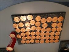 More details for 1965 penny uncirculated set of 50 coins housed in a tube