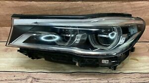 2016-2018 BMW 7 Series 740i 750i LH DR Full LED OEM Headlight Lamp 7349107-03