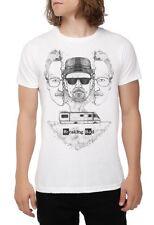 Breaking Bad - Heisenberg Inside - Men's Medium White T-Shirt Graphic Tee