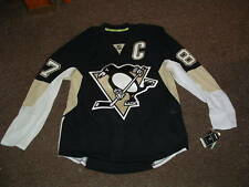 SIDNEY CROSBY #87 PENGUINS 2015 AUTHENTIC HOME HOCKEY JERSEY sz 54 NWT