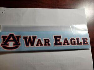 "Auburn University ""War Eagle"" 10"" Decal"