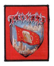 TANKARD Woven Patch FRANKFURT ♫ Aufnäher ♫ Big Teutonic Four ♫ Thrash Metal ♫