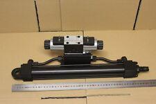 NEUF: Verin hydraulique diam. 40mm X 515mm sur distributeur ATOS 24Vdc SDHE-0711