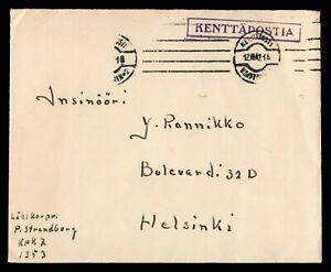DR WHO 1942 FINLAND KENTTAPOSTIA MILITARY C189580